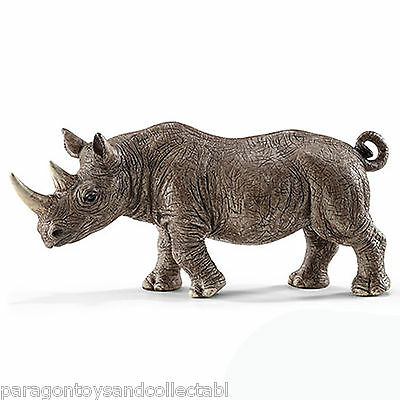 Schleich Africa Wild Life - AFRICAN BLACK RHINOCEROS 14743 - New with Tag