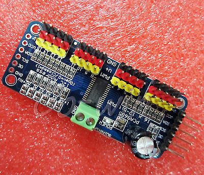 1pcs 16-channel 12-bit i2c PMW Driver Servo Driver PCA9685 For Arduino