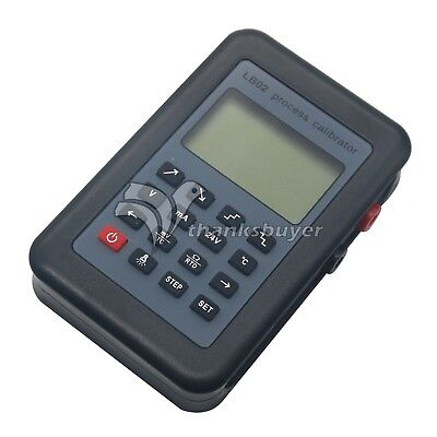 Resistance Current Voltmeter signal generator source calibrator 4-20mA/0-10V/mV