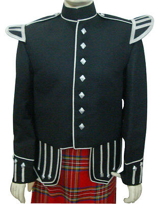 Piper & Drummer Doublet Black, Silver Trim Only