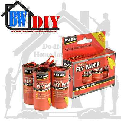 Pest Stop Super Strong Fly Papers / Trap
