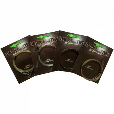 Korda Safe Zone/Dark Matter Leader Ring Swivel 1m (Various Colours)