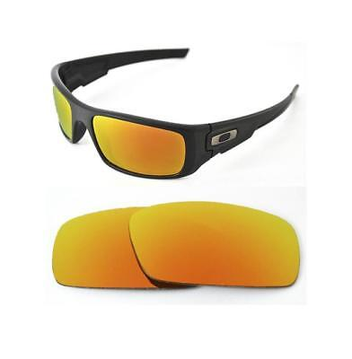 7236bdaefb2 NEW POLARIZED CUSTOM Fire Red Lens For Oakley Crankshaft Sunglasses ...