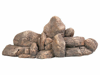 Rock Cluster Reptile Vivarium Aquarium Decoration Fish Tank Ornament