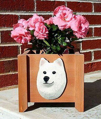 Samoyed Planter Flower Pot