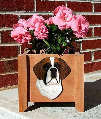 Saint Bernard Planter Flower Pot