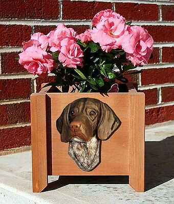 German Shorthair Planter Flower Pot Standard