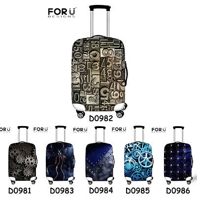 """Cool Elastic Dust-proof Travel Luggage Cover Suitcase Protector 18""""24""""26""""28""""30"""""""