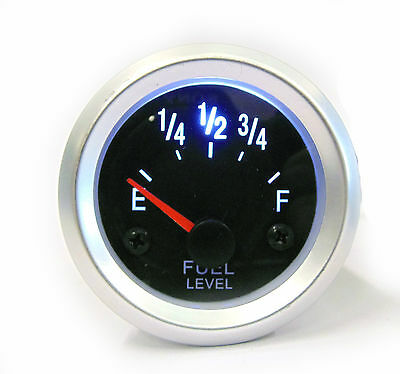 52mm Universal Fuel Level Gauge With Back Light Ideal For Kit Track Car