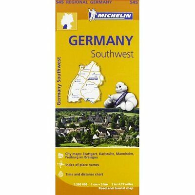 Germany Southwest Michelin Editions des Voyages Sheet map folded 9782067183667