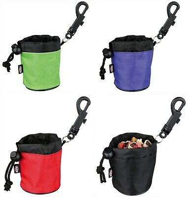 Dog Activity Mini Snack Bag Dog Treat Bag with Clip Attachment 7cm x 9cm