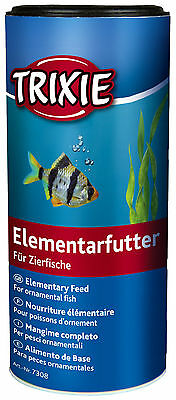 Elementary Fish Food for Tropical & Coldwater Ornamental Fish Flake Food 250ml