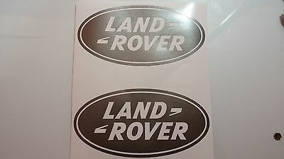 Land Rover DEFENDER Discovery Range Rover Decal Logo Adhesives Vinyl Sticker