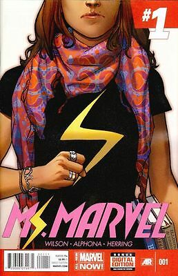 Ms Marvel 1 (2014) 1st Print Marvel NOW first girl muslim super hero KAMALA KHAN
