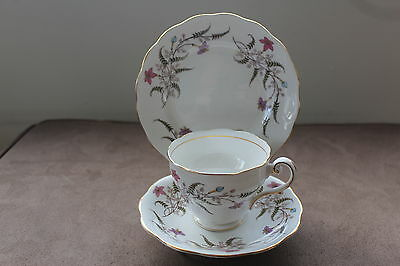 "ROYAL STANDARD    "" FANCY FREE""   Trio Set  - Tea cup, Saucer and Teaplate"