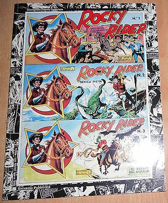 Ed.universo Serie Intrepido Classic Speciale Rocky Rider  N° 1  1996  Orig.