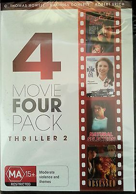 Movie 4 Pack -Thriller 2 -Dead Run/Blink of an Eye/Natural Selection/Obsessed-R4