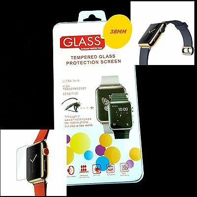 Premium Real Tempered Glass Screen Protector For 38Mm Apple Watch
