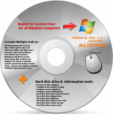 2017 repair restore computer drivers dvd for windows 7 8 xp vista 2013 all windows drivers pack standard dvd disc for xp vista 7 8