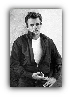 James Dean Canvas Framed Wall Art Print - Vintage Old Hollywood A1 A2 A3 A4  sc 1 st  PicClick UK & JAMES DEAN CANVAS Framed Wall Art Print - Vintage Old Hollywood A1 ...