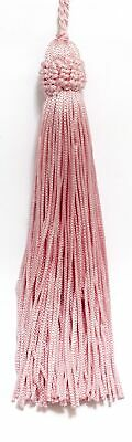 "Blush Pink 5.5"" Chainette Tassels Blushing Bride [Set of 10]"