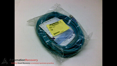 Turck Rscd Rj45 4421-10M/c1195 Cordset 4P Male St To Ethernet End, New #195686