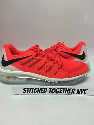 newest 570ee 49a2c (698902-600) Men s Nike Air Max 2015 Bright Crimson black summit