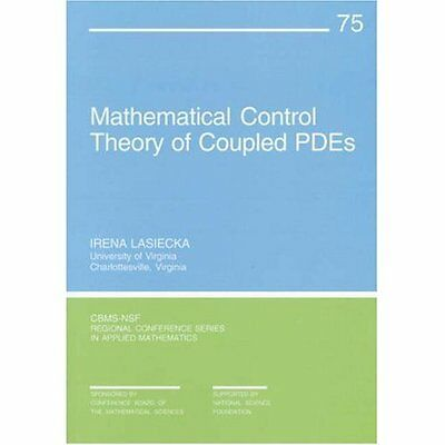 Mathematical Control Theory Coupled PDEs Lasiecka Rozier Society . 9780898714869