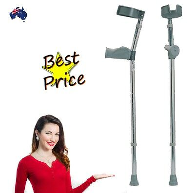Invacare Ergonomic Forearm Elbow Crutches Great Value RRP $69