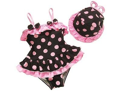 Summer style Children Swimwear Polka Dot Lovely Bathing Suit Baby Girls Swimsuit