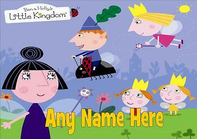 Ben And Holly's Little Kingdom Personalised Placemat