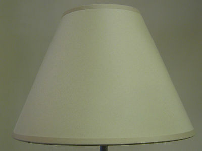 "Brand New 9"" Cotton Coolie Pendant Or Table Lampshade In Cream Colour"