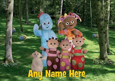 IN THE NIGHT GARDEN b PERSONALISED PLACEMAT