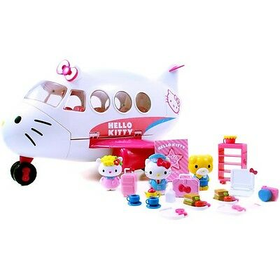 Hello Kitty Jet Plane Play Set. Free Delivery