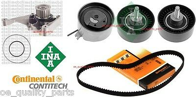 Conti Ina Cam Timing Belt Kit Water Pump Jeep Cherokee Kj 2001-2008 2.5 2.8 Crd