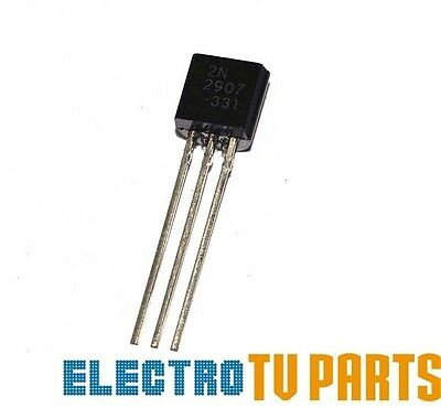 2N2907 PNP TO-92 Transistor PACKS OF: x5 & x50