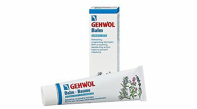 Gehwol Foot Balm (for Normal Skin) 75ml - Soothes, Refrehes & Antimicrobial