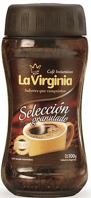 Instant Coffee - LA VIRGINIA SELECTED GRANULATED INSTANT COFFEE 100G (ARGENTINA)