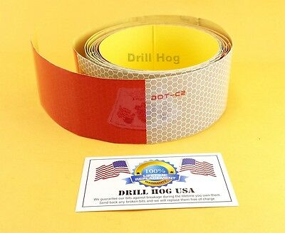 10' Trailer Conspicuity Tape Safety Reflective Tape Semi Truck Trailer Big Rig