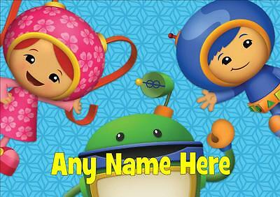 Team Umizoomi Personalised Placemat