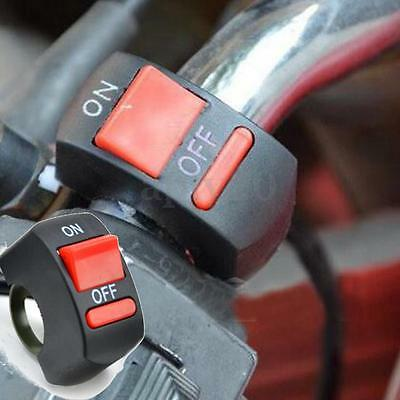 """Motorcycle Quad Dirt Pit Bike On/off Kill Stop Button Switch Honda 7/8"""" Uk"""