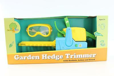 New Kids Size Garden Hedge Trimmer With Realistic Action & Sound