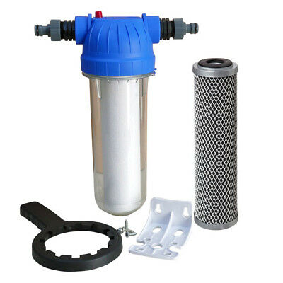 Koi Pond  Water filter for fish pond Chlorine removal Dechlorinator x 2  filters