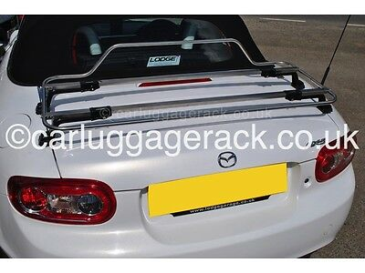 Mazda MX5 MK3 Stainless Steel Boot Luggage Rack Carrier - Stunning Design