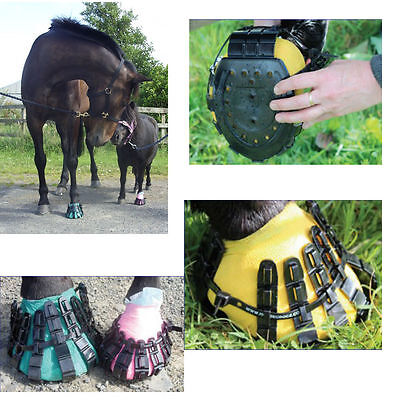 Horsecrocz For Hoof Protection - Reusable Hardwearing Protection