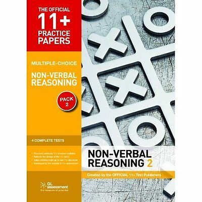 11+ Practice Papers Non-Verbal Reasoning Pack 2 GL Assessment Pam. 9780708720486