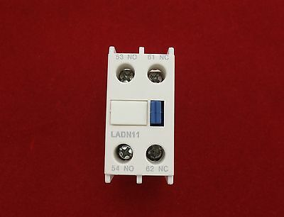 1PC Auxiliary Contact Block Fits LADN11 1NO/1N Use for LC1D NEW TYPE CONTACTOR