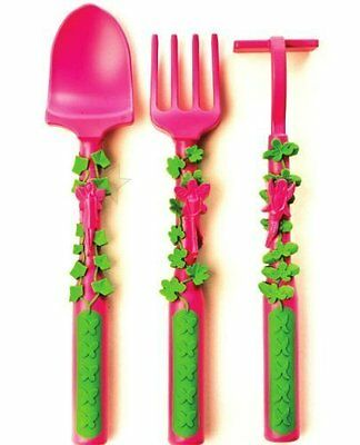Constructive Eating Set of 3 Garden Fairy Utensils for learning Youngsters