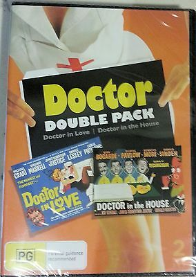 Doctor Double Pack - Doctor in Love / Doctor in the House (2 disc set) NEW Reg 4