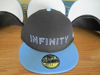 Avengers Infinity War New Era Thanos Fitted Hat Marvel Comics RARE - BLUE f9db4d0989f